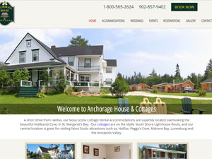 Rivendell Software Featured Project: Anchorage House and Cottages